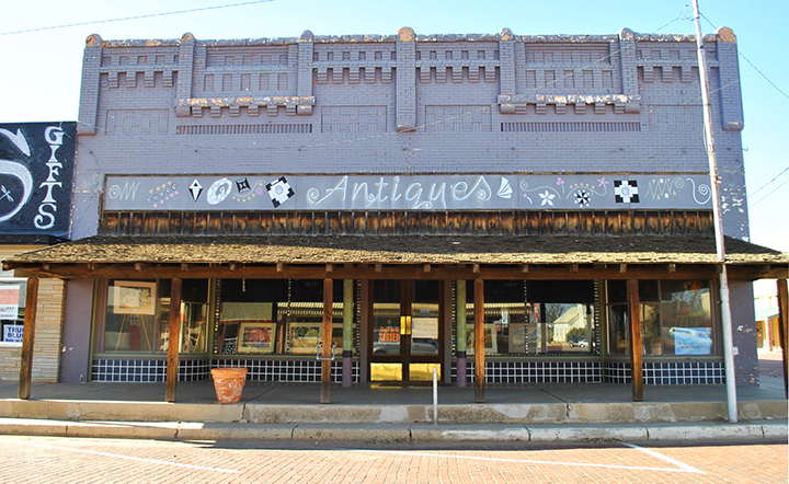 Downtown Childress, Texas