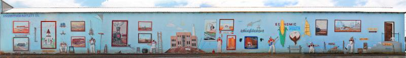Dimmtt, Texas, mural