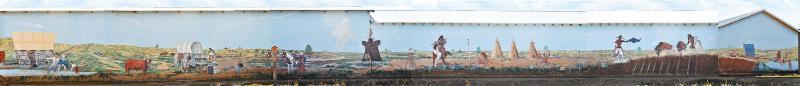 Dimmit, Texas mural