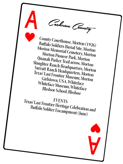 Cochran County card