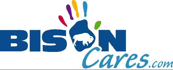 Bison Cares Logo