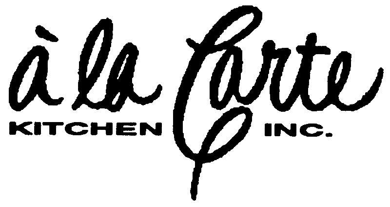a la Carte logo