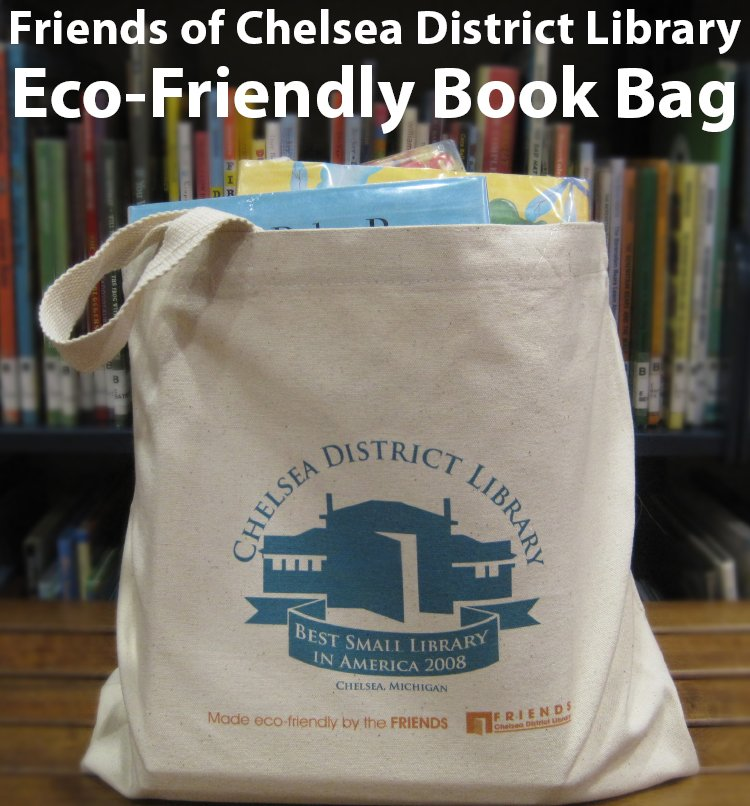 Friends of Chelsea District Library Eco-Friendly Book Bag