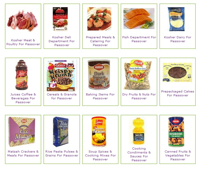 Passover Food Restrictions List