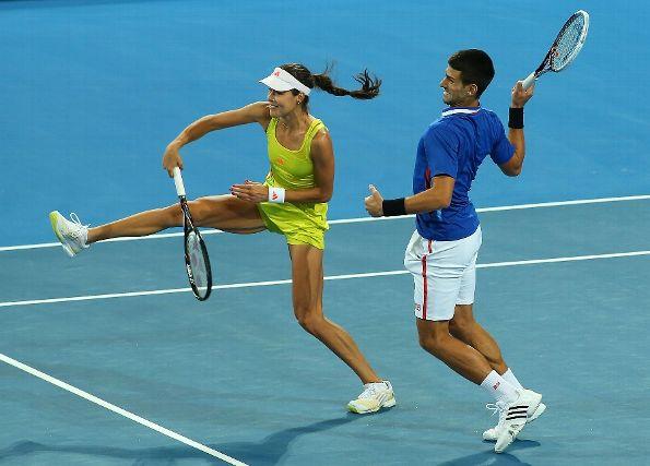 mixed doubles djokavich ivanavich