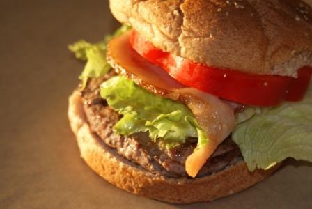 SonRise Ranch Grass-Fed Bacon Burger