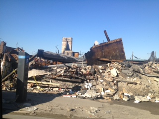 Damage on Rockaways