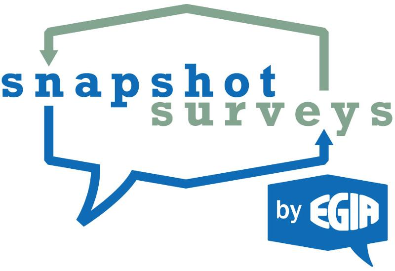 Snapshot Survey by EGIA logo