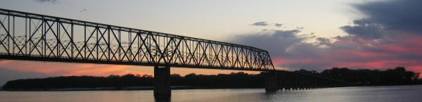 Memorial Bridge, Quincy, IL