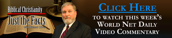 Click here to watch this week's World Net Daily video commentary