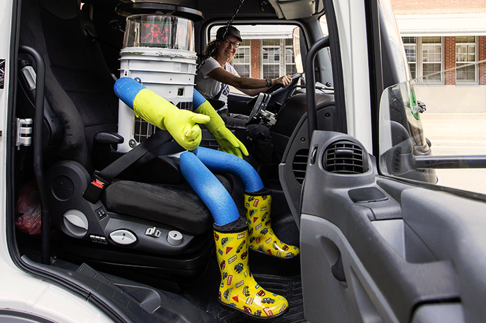 HitchBot hitchhiking robot
