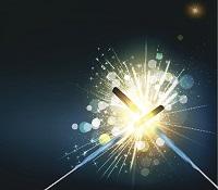 dueling sparklers