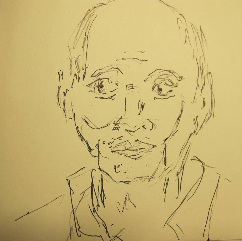 Mr Chen's Sketch