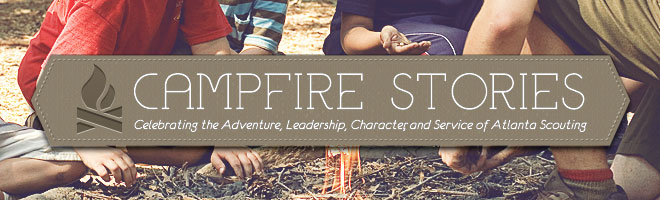 CAMPFIRE STORIES] Eagle Scout wants to Change the World from