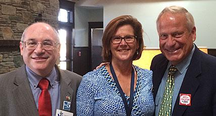Randy Rosenbaum, Liz Drayton, John Hirschboeck