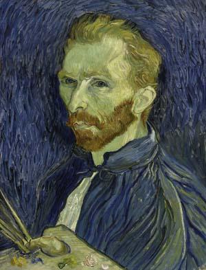 Vincent Van Gogh, Self-Portrait, c 1889
