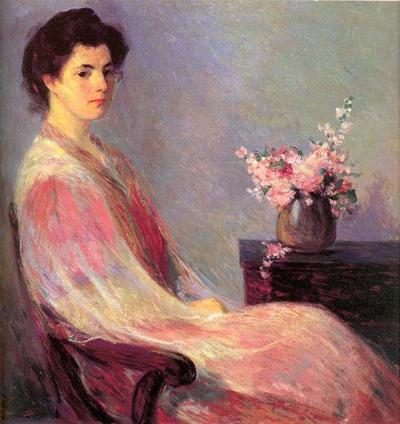 Bernhard Gutmann, Lady in Pink