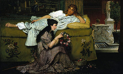 Glaucus and Nydia by Lawrence Alma-Tadema c1867