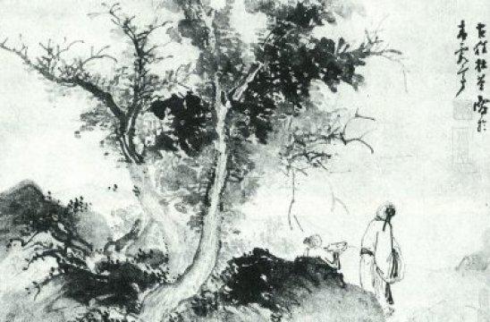 An Autumn Grove by Du Jin c15th-16th century