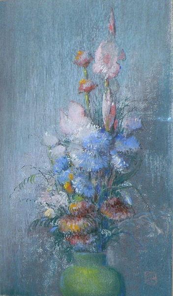Flowers by Leon Dabo