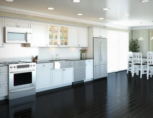 kitchen design one wall six great kitchen floor plans 975