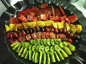 Dinner Party Tomato Tasting
