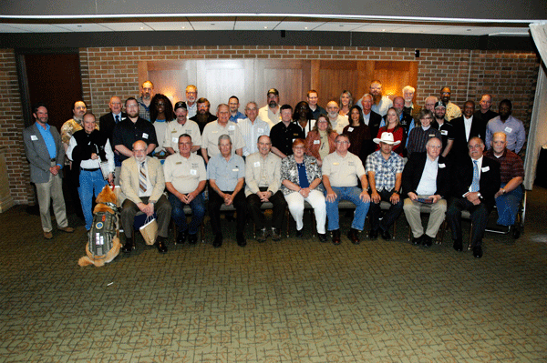 Volunteers at the 2016 Recognition Event