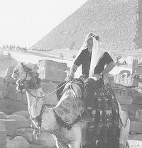 Chuck at Pyramids