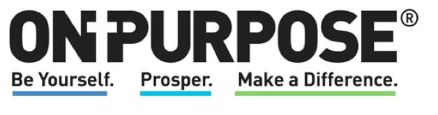 OnPurpose Tag w color