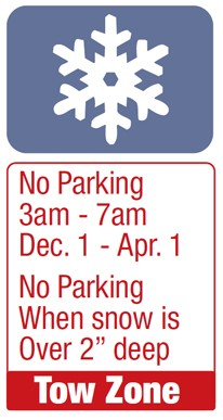 snow zone sign approved