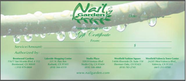Tis the Season to be pampered @ Nail Garden