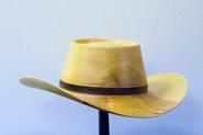 wooden hat