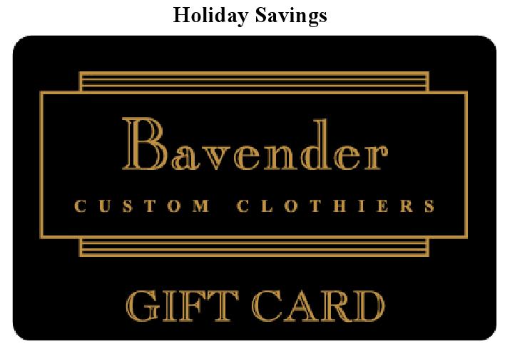 Bavender Gift Card