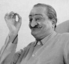 Avatar Meher Baba Using Hand Gestures