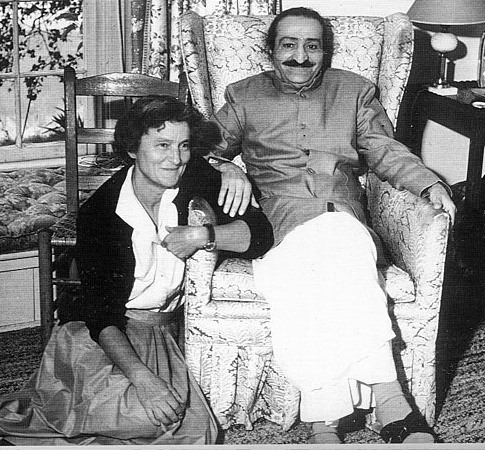 Agnes & Meher Baba