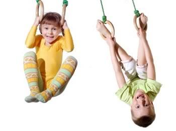 kids on rings