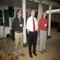 Roger Berliner Chris Van Hollen Matt Logan at C&O Canal Trust Event