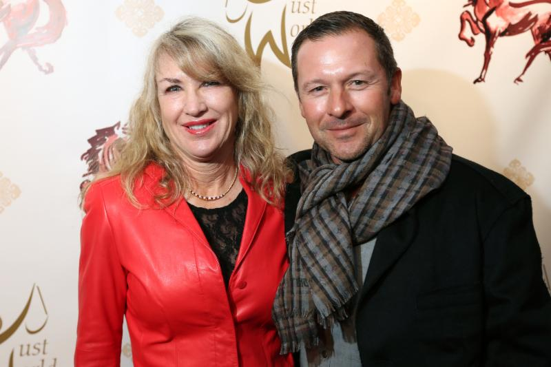 Cookie Beck and Eric Lamaze