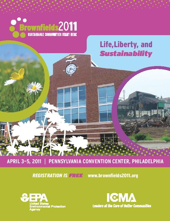 Brownfields brochure cover