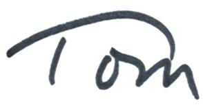 Tom's Signature