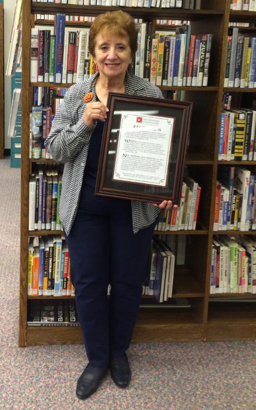 Helen Chappelear of Southwest Public Library