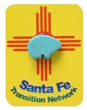 Santa Fe Pin photo