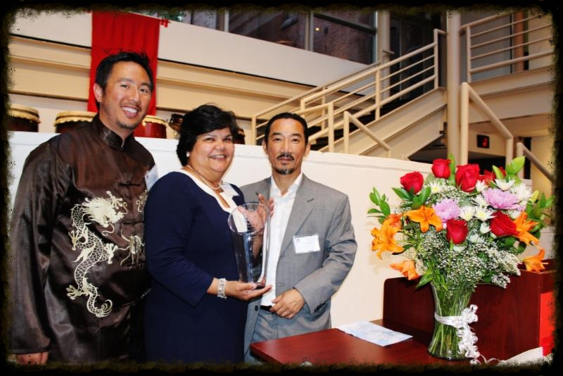 30th AnniversaryHonoree, Anita Santos-Singh with Richard Liu & Thoai Nguyen