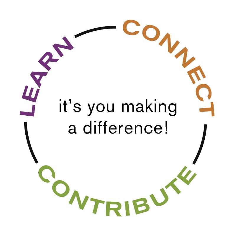 Learn, Connect, Contribute