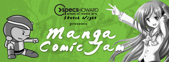 Sketch Night - Manga Comic Jam [image]