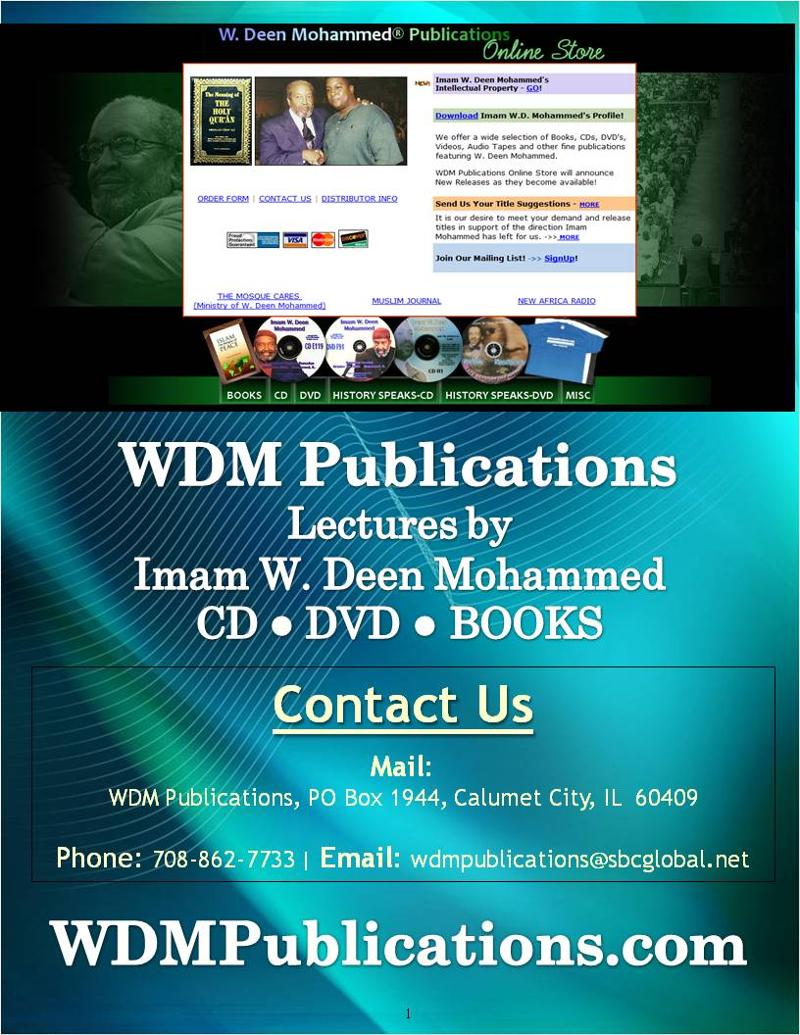 Visit WDMPublications.com