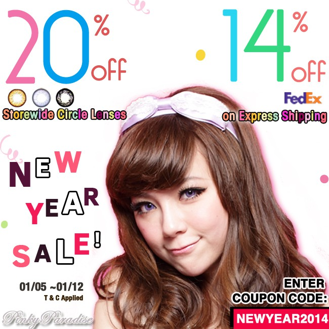 2014 New Years Sale
