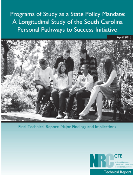NRCCTE South Carolina Personal Pathways to Success Initiative Final Technical Report