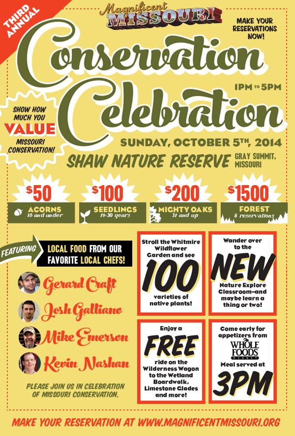 invitation Conservation Celebration