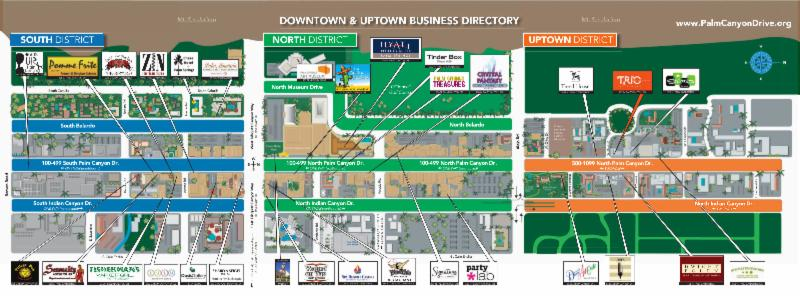 logo Be on the map! Very limited offer! This map graphic is ... Downtown Palm Springs Map on monterey downtown map, lompoc downtown map, lexington downtown map, henderson downtown map, riverside downtown map, fresno downtown map, san bernardino downtown map, west virginia downtown map, bakersfield downtown map, santa ana downtown map, buena park downtown map, city of palm desert map, south lake tahoe downtown map, west palm beach florida city map, baltimore downtown map, pleasanton downtown restaurant map, stockton downtown map, temecula downtown map, laguna beach downtown map,
